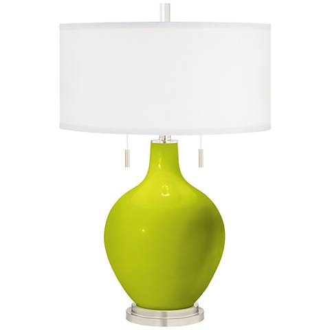 Pastel Green Toby Table Lamp