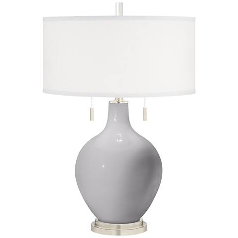 Swanky Gray Toby Table Lamp