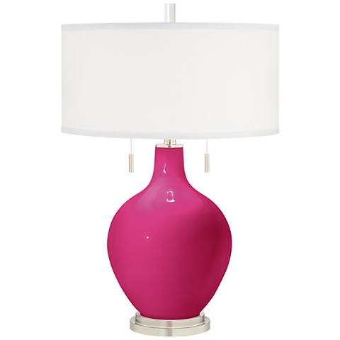 Beetroot Purple Toby Table Lamp