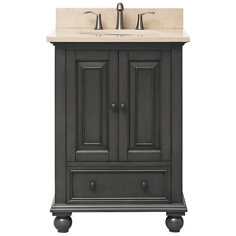 """Avanity Thompson Charcoal 25"""" Galala Single Sink Vanity"""