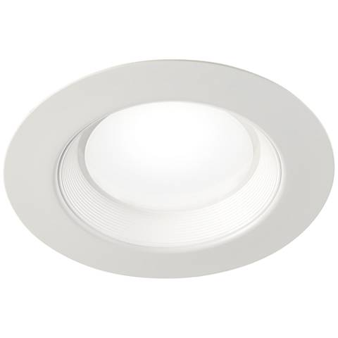 "5""-6"" Baffle Downlight 22.5 Watt LED Retrofit Trim in White"