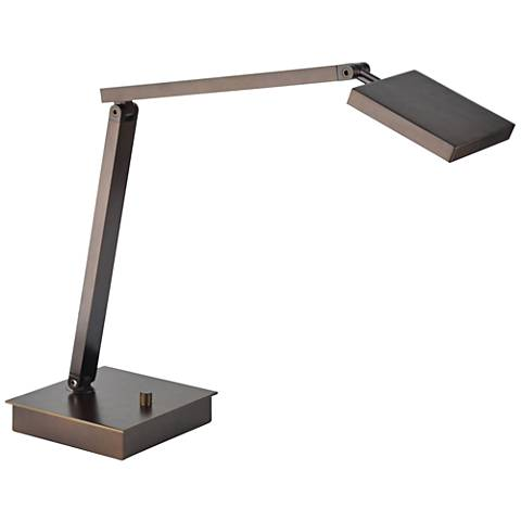 TaskWerx Bronze Adjustable Urban LED Task Desk Lamp