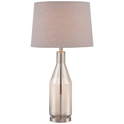 Libby 3 Light Industrial Console Lamp With Edison Bulbs