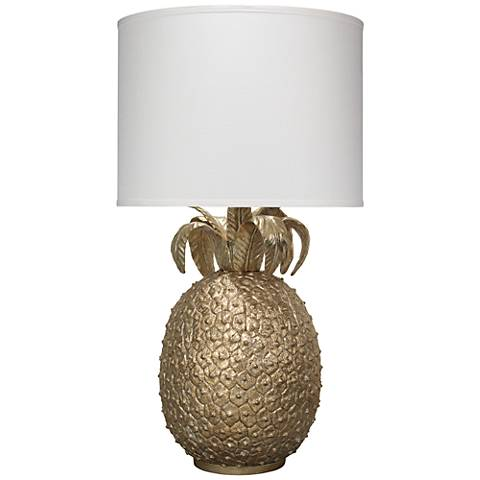 Jamie Young Champagne Pineapple Table Lamp