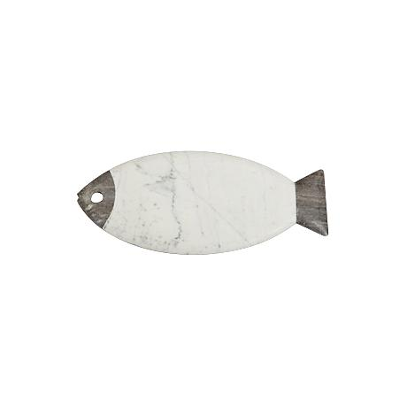 Maison Home Pescado Stone and Marble Cheese Board