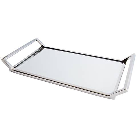 Maison Home Helena Decorative Mirrored Glass Tray
