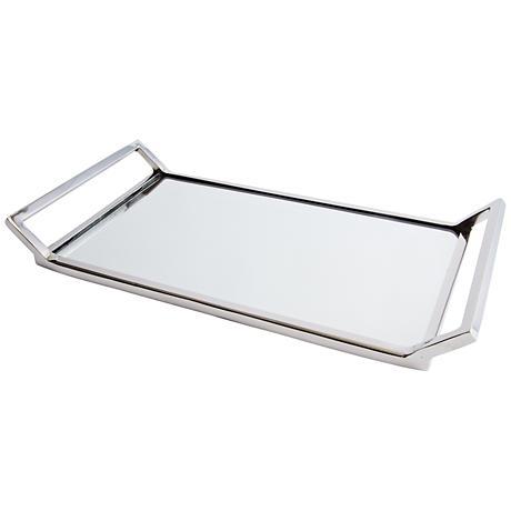 Maison Home Helena Decorative Mirrored Glass Tray