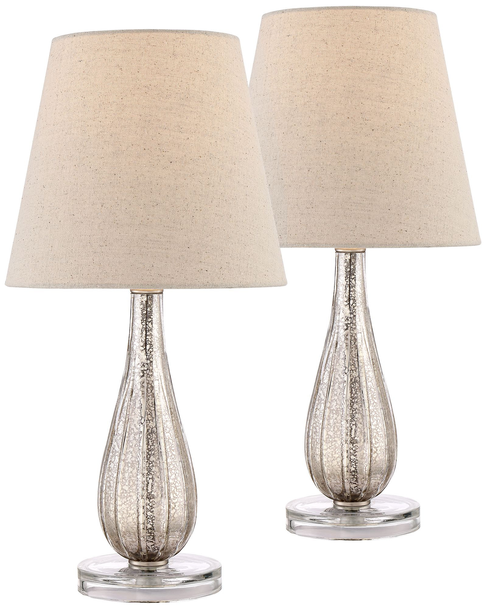 watson mercury glass table lamp set of 2