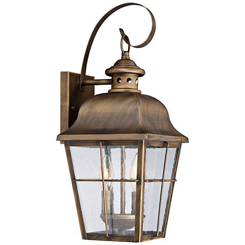 "Quoizel Millhouse 18 1/2"" High Veneto Outdoor Wall Light"