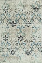 "Dalyn Beckham BC1244 S 8'2""X10' Antiqued Ivory Area Rug"