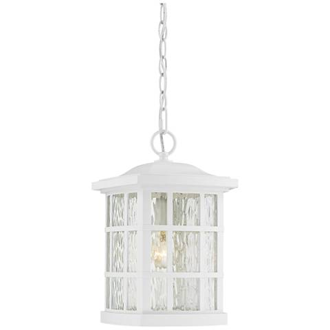 "Quoizel Stonington 15""H Fresco Outdoor Hanging Light"