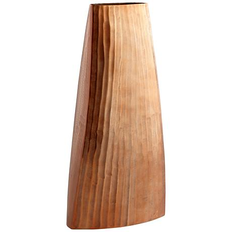 "Galeras Copper 21"" High Decorative Vase"