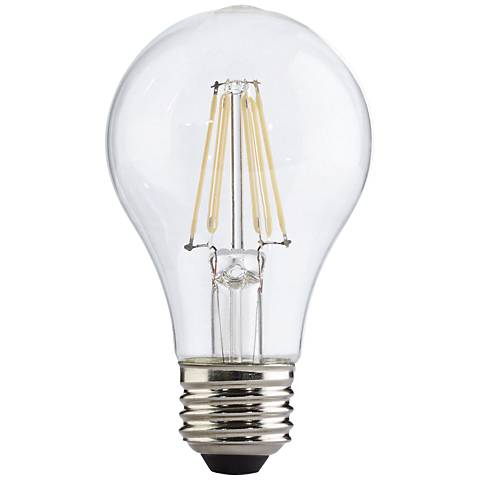 Clear 4.5 Watt LED Dimmable A19 Filament Light Bulb