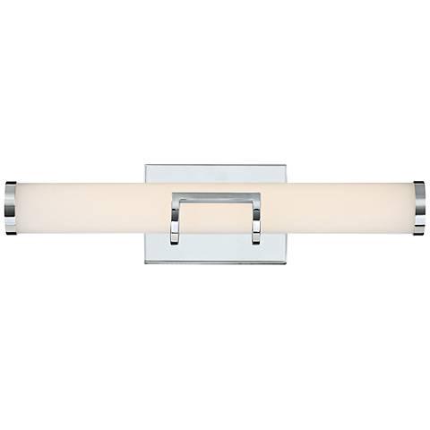 "Platinum Collection Bram 20 1/4"" Wide Chrome LED Bath Light"