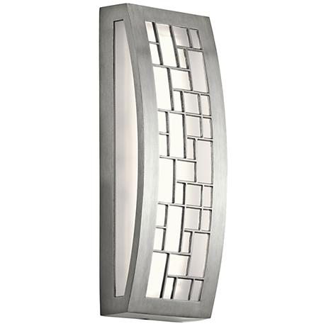 """Kichler Margeaux 12"""" High LED Aluminum Outdoor Wall Light"""