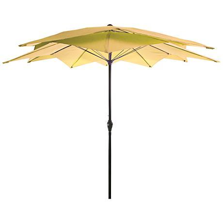 Mission Bay Canary 8 1/2' Steel Lotus Umbrella