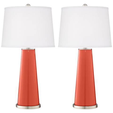 Koi Leo Table Lamp Set of 2
