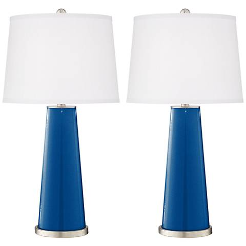 Ocean Metallic Leo Table Lamp Set of 2