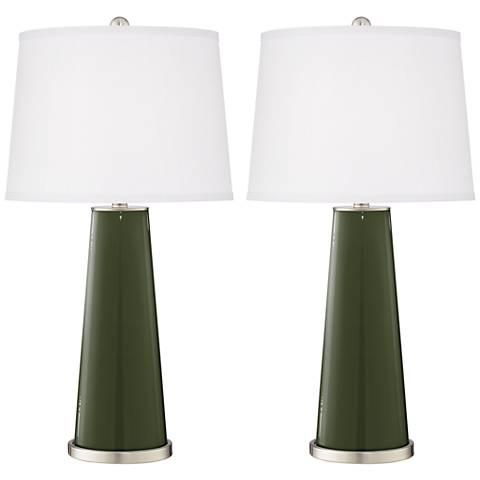 Secret Garden Leo Table Lamp Set of 2
