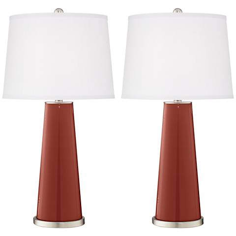 Madeira Leo Table Lamp Set of 2