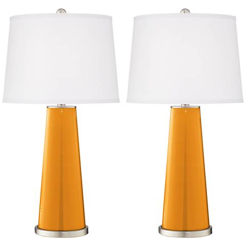 Carnival Leo Table Lamp Set of 2