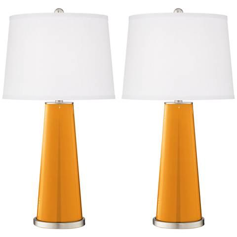Carnival Leo Table Lamp Set of 2