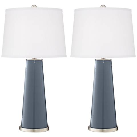 Granite Peak Leo Table Lamp Set of 2