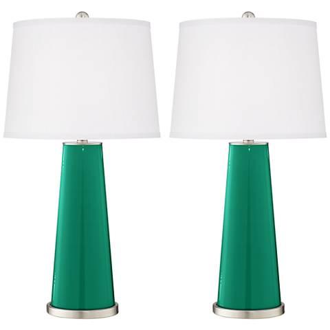 Leaf Leo Table Lamp Set of 2