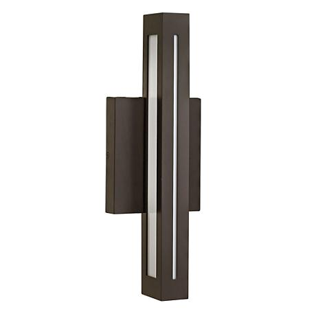 "Hinkley Vue LED 14 3/4"" High Bronze Outdoor Wall Light"