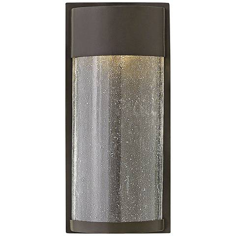 "Hinkley Shelter 12"" High LED Bronze Outdoor Wall Light"