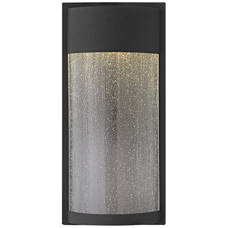 "Hinkley Shelter 18"" High LED Black Outdoor Wall Light"