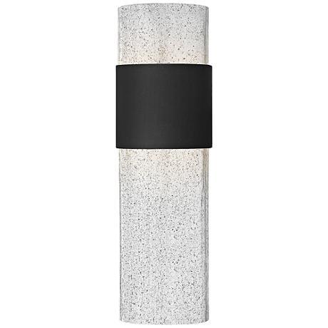 "Hinkley Horizon LED 17"" High Black Outdoor Wall Light"