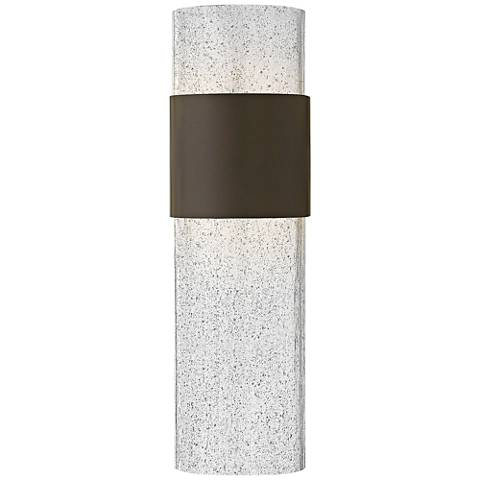 "Hinkley Horizon LED 17"" High Bronze Outdoor Wall Light"