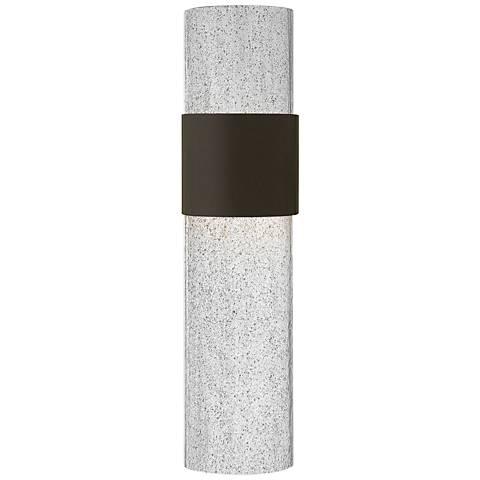 "Hinkley Horizon LED 20 1/2"" High Bronze Outdoor Wall Light"