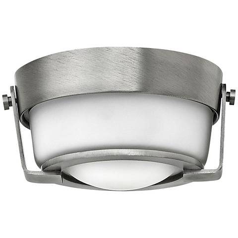 "Hinkley Hathaway 7"" Wide LED Antique Nickel Ceiling Light"