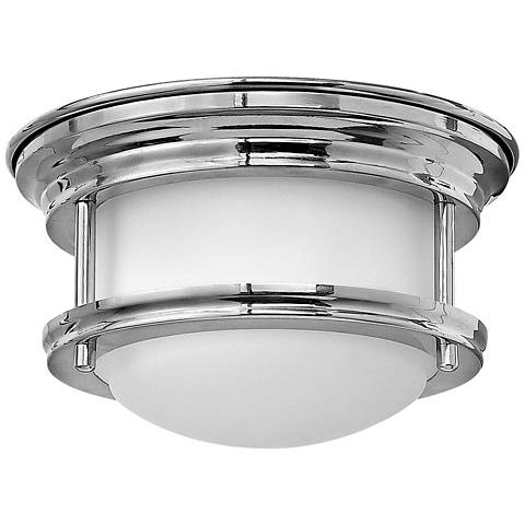 "Hinkley Hathaway 7 3/4"" Wide LED Chrome Ceiling Light"