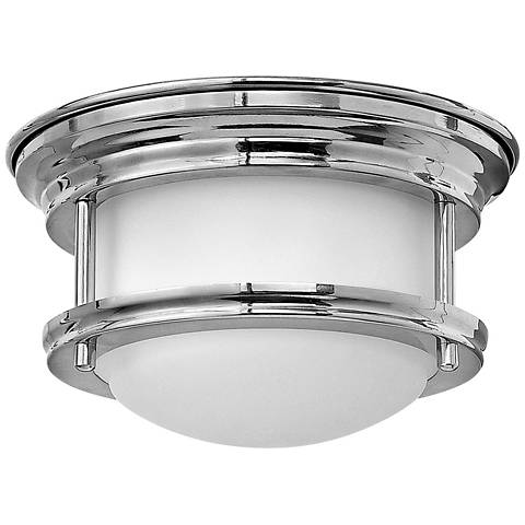 "Hathaway Chrome 7 3/4""W LED Surface Mount or Retrofit Trim"