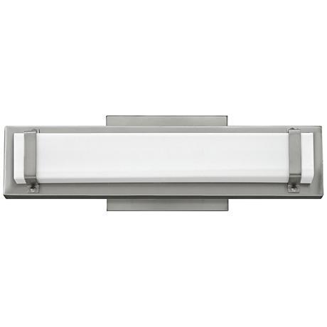 """Hinkley Tremont 16"""" Wide LED Brushed Nickel Bath Light"""