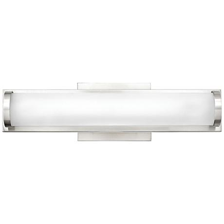 "Hinkley Acclaim 16"" Wide LED Polished Nickel Bath Light"