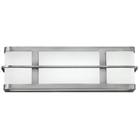"Hinkley Fairlane 16"" Wide LED Brushed Nickel Bath Light"