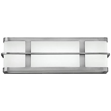 "Hinkley Fairlane 16"" Wide LED Brushed Nickel Bath Light"