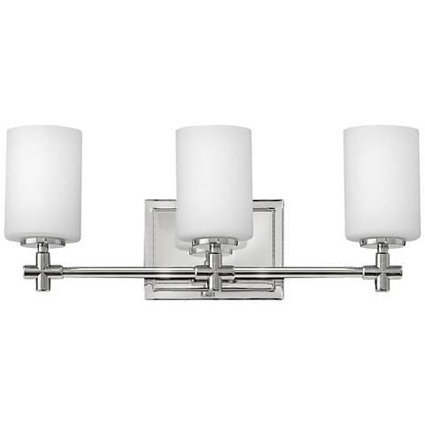 Hinkley Laurel 19 1 2 W Polished Nickel 3 Light Bath Light 1r615 Lamps Plus