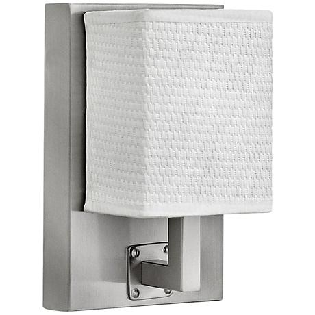 """Hinkley Avenue LED 7 3/4"""" High Brushed Nickel Wall Sconce"""