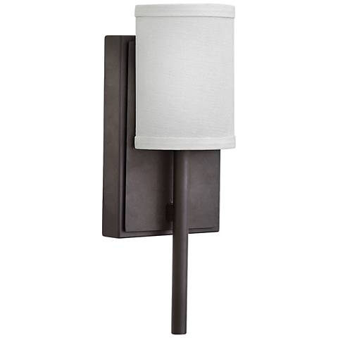 "Hinkley Avenue 12 3/4"" High Oiled Bronze LED Wall Sconce"