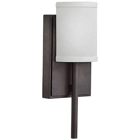 "Hinkley Avenue LED 12 3/4"" High Oiled Bronze Wall Sconce"