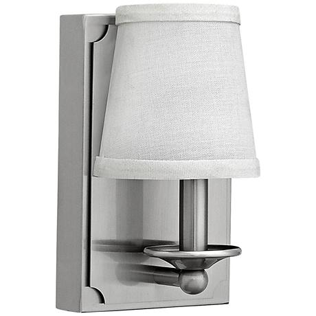 """Hinkley Avenue LED 8"""" High Brushed Nickel Wall Sconce"""