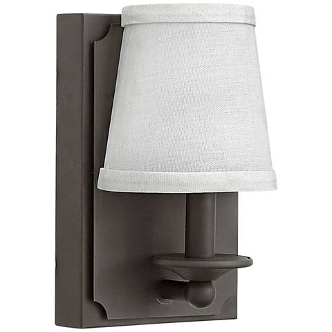 """Hinkley Avenue 8"""" High Oil Rubbed Bronze LED Wall Sconce"""