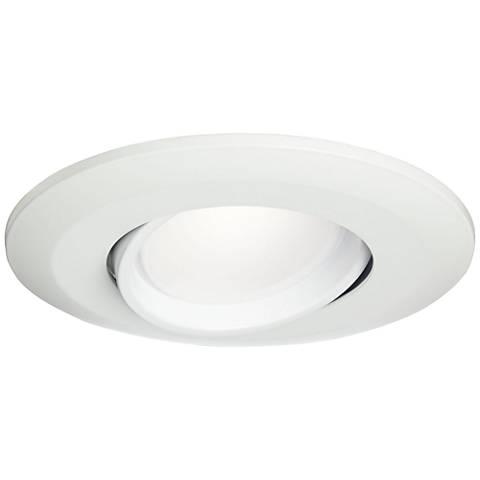 "5""/6"" White Gimbal Retrofit 15W LED Eyeball Downlight"