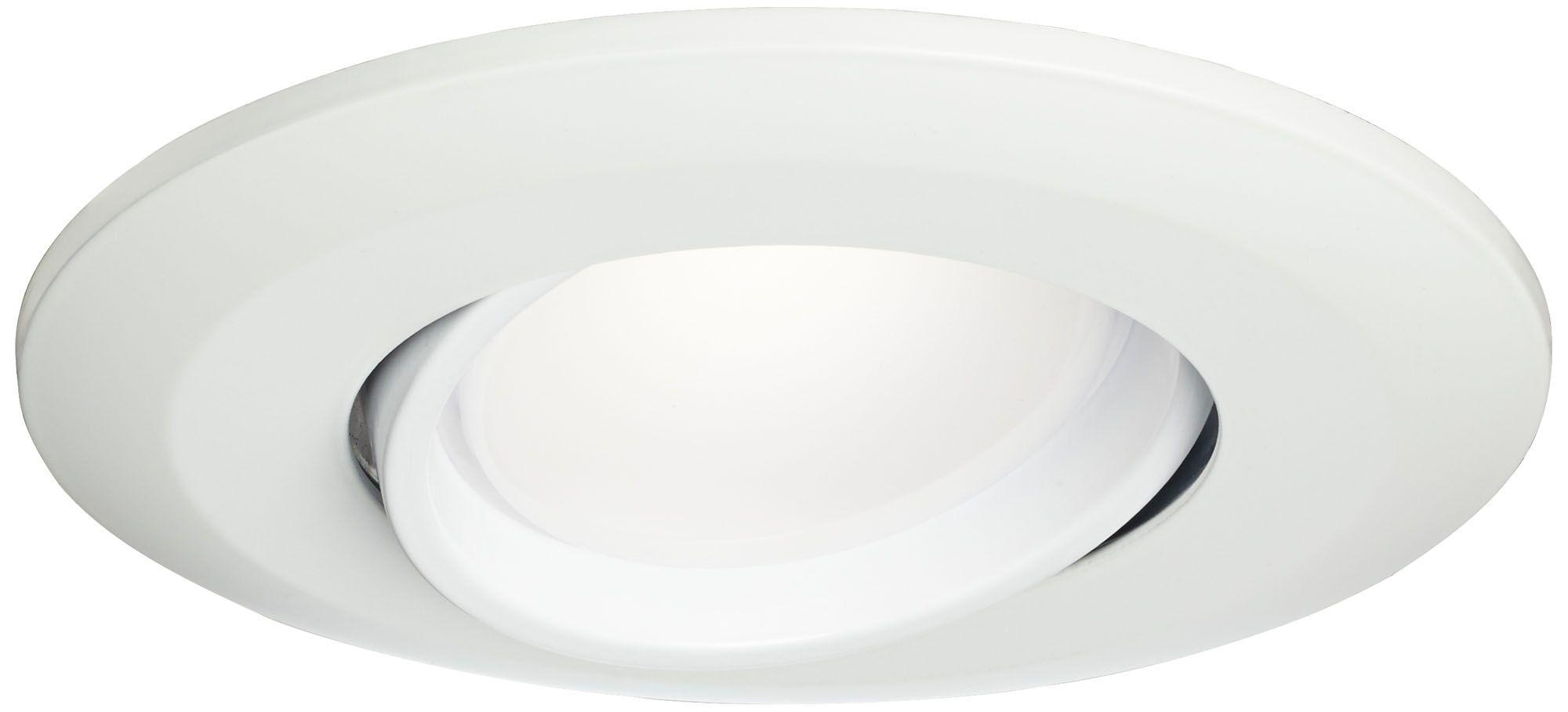 5 /6  White Gimbal Retrofit 15W LED Eyeball Downlight  sc 1 st  L&s Plus & Recessed Lighting - Kitchen Bathroom Dining and Living Room Trim ... azcodes.com