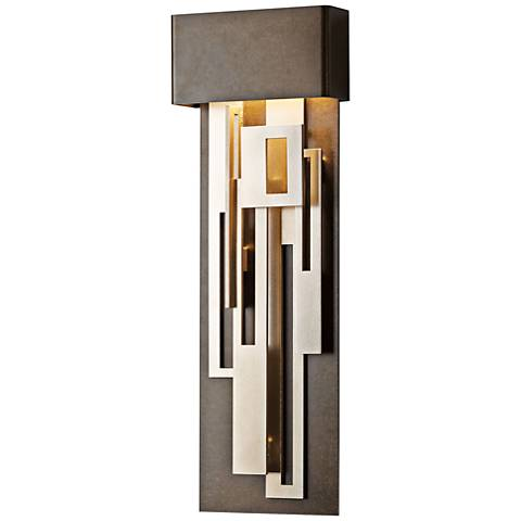 "Collage 27 1/4"" High Bronze Medium LED Wall Sconce"
